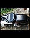 Seat Universal Black Old Leather