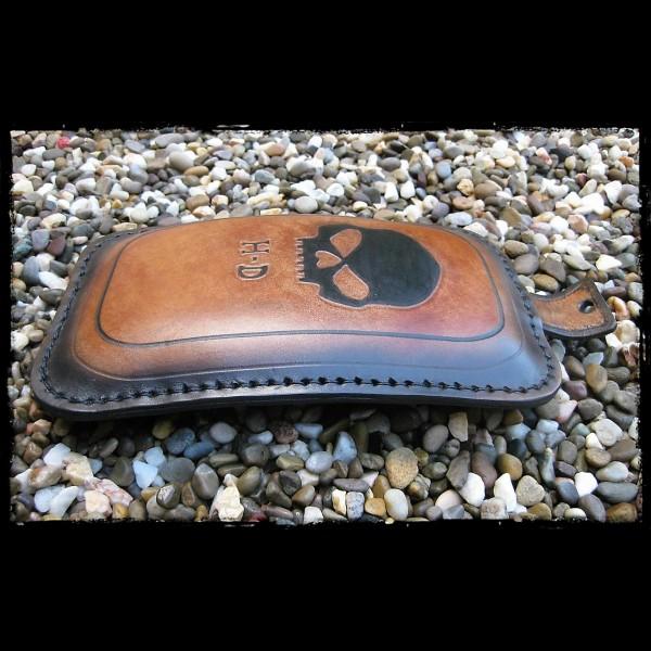 Soziussitz Skull HD. Leather