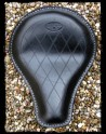 Asiento Universal Black Leather Diamond