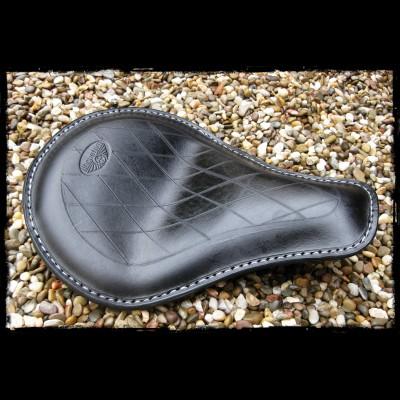 Sitz Universal Black Leather Diamond