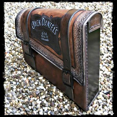 Satteltasche Jack Daniels
