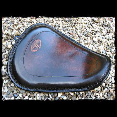 Asiento Sportster 2010 - Up Leather Dark