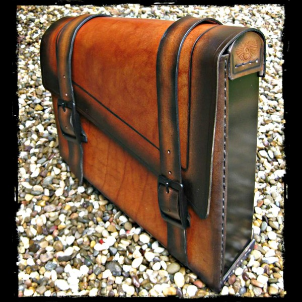 Satteltasche Leather