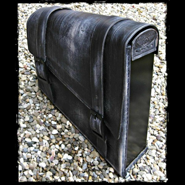 Saddlebag Vintage Black