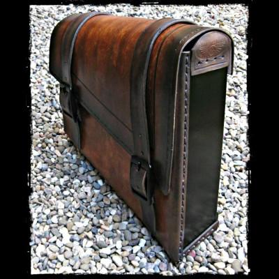 Borsa Vintage Dark Leather