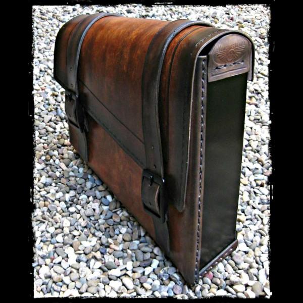 Sacoche Vintage Dark Leather