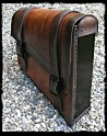 Saddlebag Vintage Dark Leather