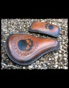 Selle Universelle Harley Davidson Skull Brown